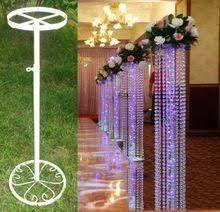 Risultati immagini per how to make DIY lighted wedding columns