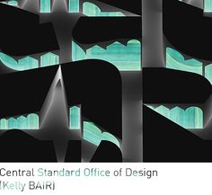 """Central Standard Office of Design (Kelly BAIR), """"Every Road Will Lead To Nowhere."""" Axonometric drawing."""