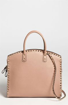 Valentino 'Rockstud' Leather Dome Satchel available at #Nordstrom- $2295. Maybe some day I :)