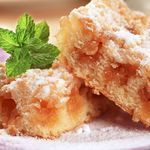 Apple Cinnamon Bars-They taste like they came from the bakery! No wonder your family will be clamoring for more. Diabetic Desserts, Sugar Free Desserts, Diabetic Recipes, Just Desserts, Dessert Recipes, Cooking Recipes, Vegetarian Recipes, Diabetic Foods, Apple Recipes