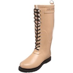 """Ilse Jacobsen Women's Rub 1 Rain Boot,Camel,40 EU (US Women's 10 M) Ilse Jacobsen. $138.00. Boot opening measures approximately 14 1/2"""" around. Platform measures approximately 3/4"""" . Rubber sole. Made in Denmark. Shaft measures approximately 13 1/2"""" from arch. Heel measures approximately 1 1/4"""". rubber. Save 31% Off!"""