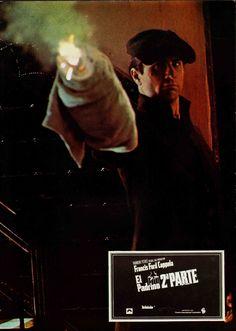 The Godfather Part II, Spanish lobby card. 1974