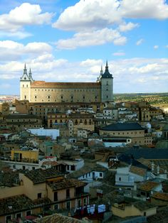 View of the Alcazar in Toledo, Spain  photo from auberginedreams