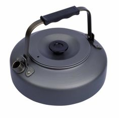 The Terra kettle from optimums offers a compact lightweight pot in which to brew it. Made of hard-anodized aluminum the lightweight kettle and fits inside the optimum Terra cook set for easy transpo...