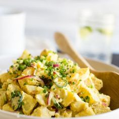 Texas Potato Salad | Vanilla And Bean