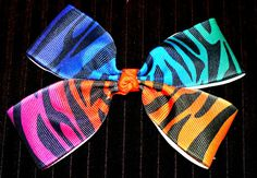 LovelyLake Neon Multi Color Animal Print Grosgrain by LovelyLake, $8.00