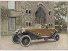 1923 Citroën 10hp Torpedo Caddy