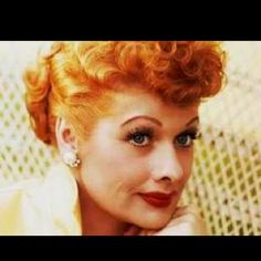 Lucille Ball ... I wish I could be as funny as she was!! Happy 100th Birthday!!! Vitameatavegamin Spoon you way to health!!!
