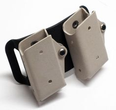 The best Kydex Double Magazine on the market- Glock 9mm/.40/.357 mags Desert Tan - $54.99 shipped with Free Priority Shipping.