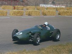 Roy Salvadori Driving Aston Martin in Dutch Grand Prix at Zandvoort Photographic Print