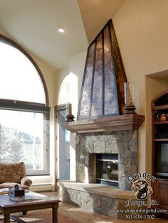 45 Best Copper Fireplace Surrounds Images Fireplace Surrounds