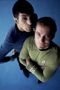 Nimoy and Shatner back in the day