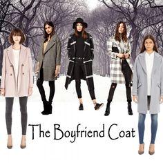 Cuddle up this season in a boyfriend Coat!