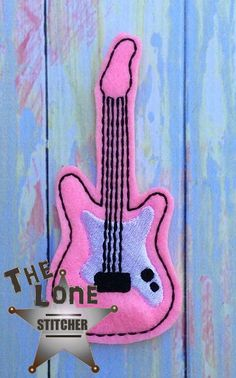 Electric Guitar Over Sized: The Lone Stitcher