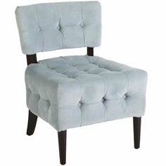 Fionn Chair - Blue Velvet on Wanelo