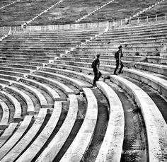 Panathenaic Stadium #streetphotography #blackandwhite #bnw #fujix100t