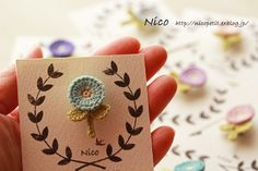*レース編みアクセサリー&小物 Nico* 神奈川県在住