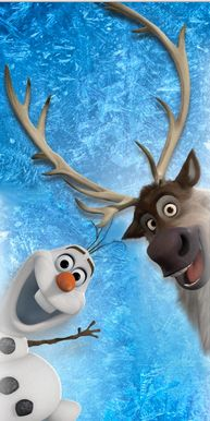 Photo of Olaf and Sven for fans of Frozen. Frozen (2013)