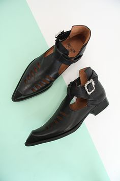 07135539e The animal kingdom got a whole lot sexier the day The Sinead was born. A.  Fluevog Shoes