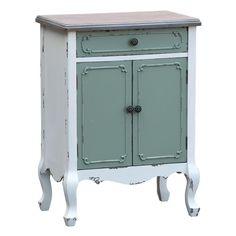 Vintage shabby chic french style Paras - Bedside Table #BELLAINTERIORS