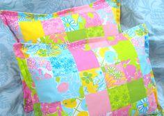 Pair Custom Made Boudoir Pillow Shams  LILLY  by Sew1Pretty, $30.00