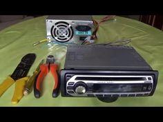 Como conectar auto estéreo a fuente de PC - YouTube