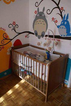 Totoro nursery. SO ADORBS.