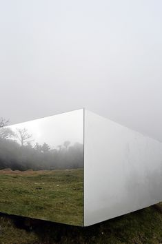 natura futura arquitectura wraps invisible portal with mirrors in ecuador