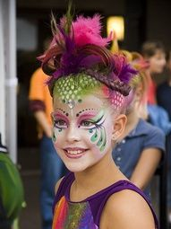 gorgeous face painting!