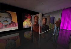Design d'espace - Scénographie - Salle d'exposition Andy Warhol