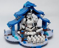 This is literally how I feel about Starwars!! Love this amazing temple MOC by Minigray @lego @starwars @officially_starwars…