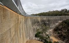 World's Beautiful Landscapes.: Whispering Wall — Barossa Reservoir