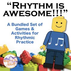 Rhythm is AWESOME {A Bundled set for ta ti-ti}