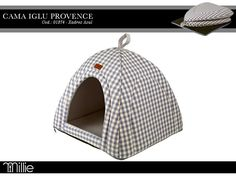 Iglu Provence Azul http://www.millie.com.br/provence