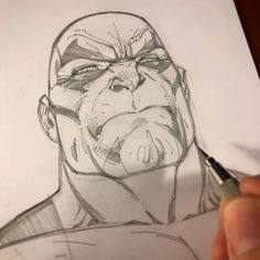 Pencil close-ups of Drax the Destroyer #pencildrawing #comicbooks #art #comicbookart #drawing #jscottcampbell #guardiansofthegalaxy #draxthedestroyer #drax #marvelcomics http://ift.tt/2gJgn1R  J. Scott Campbell  https://www.facebook.com/jscottcampbellfanpage/photos/a.122547642580.113203.80791377580/10153860391342581/?type=3