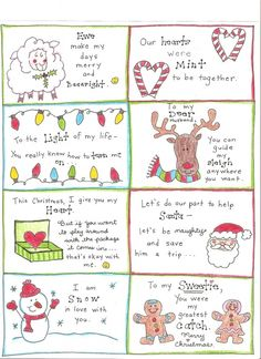 Christmas Love Notes