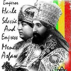 Selassie and Empress
