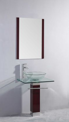 sunderland 23 5 bathroom vanity glass top home decor store toronto
