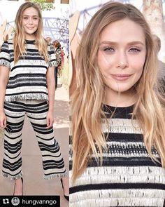 """64.9k Likes, 436 Comments - Elizabeth Olsen (@elizabetholsenofficial) on Instagram: """"I'd rather wear straw  @dior"""""""