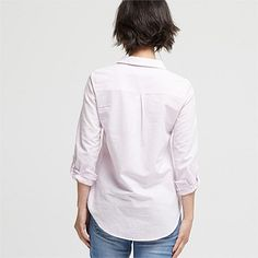 Shop Women's Clothing Online 2 | Wild South - LINEN BLEND STRIPE SHIRT