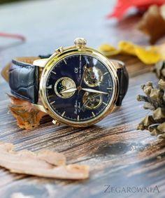 Carl von Zeyten CVZ0060GBL - Zegarek Durbach • Zegarownia.pl Breitling, Twins, Watches, Leather, Accessories, Fashion, Moda, Wristwatches, Fashion Styles