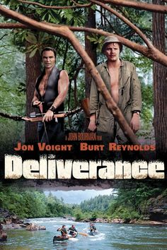 Deliverance Movie Poster - Jon Voight, Burt Reynolds, Ned Beatty #Deliverance…