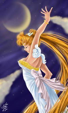 Princess Serenity by ~mary-chan81 on deviantART