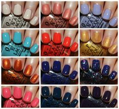 OPI Euro Centrale Collection for Spring/Summer 2013.  www.vampyvarnish.com