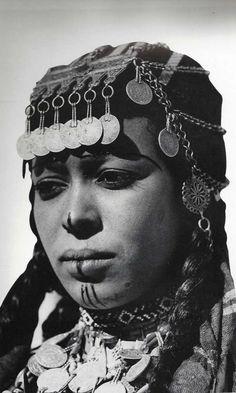 Ait Imerhrane Woman. High Atlas Mountains.  Morocco