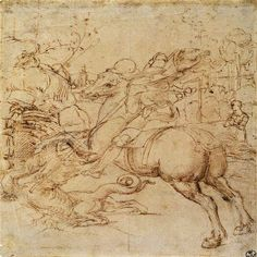 st george raphael drawing - Google Search