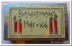 Birthday Matches.