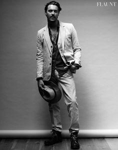 Jack Houston in Flaunt Magazine Wearing Lazaro SoHo
