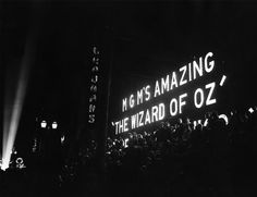 Grauman's Chinese Theater film premiere 1939