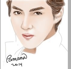 """happy birthday EXO- kris.. your still EXo in our Heart... I made this rush, just to make it on his birthday """""""